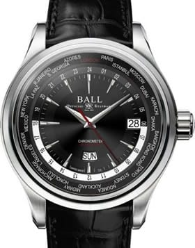 Ball Watch Trainmaster World Time GM2020D-LL1CJ-BK