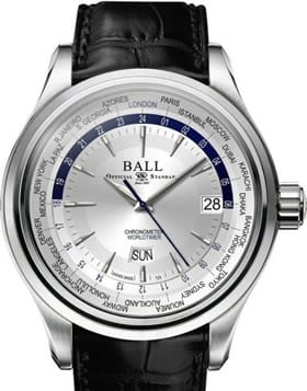 Ball Watch Trainmaster World Time Ball Trainmaster World Time GM2020D-LL1CJ-SL