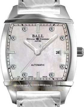 Ball Watch Conductor Lady Transcendent Diamond MOP NL1068D-L3J-WH