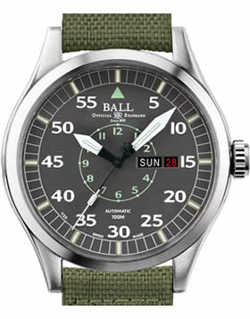Ball Watch Engineer Master II Aviator NM1080C-N5J-GY