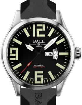 Ball Engineer master II Aviator on Rubber Strap