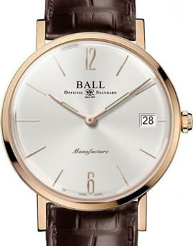 Ball Watch Trainmaster Manufacture Limited Edition NM1888D-PG-LLJ-WH