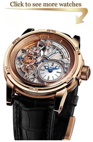 Louis Moinet Tempograph 20 Watches