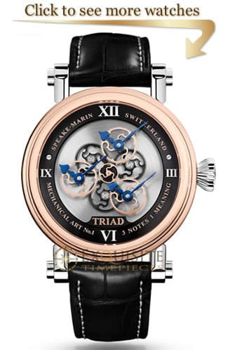 Speake Marin Triad Watches