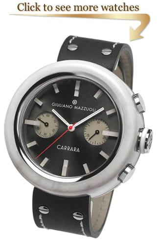 Giuliano Mazzuoli Carrara Chronograph Collection